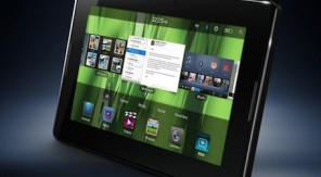 BlackBerry Tablet is onderweg