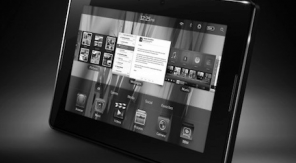 BlackBerry Tablet is onderweg - zwartwit