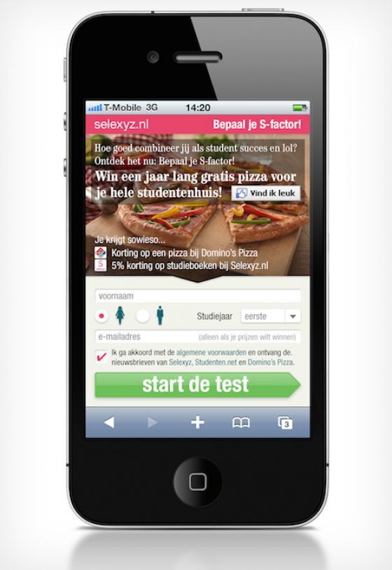 Doe mee via pc, tablet of mobiel
